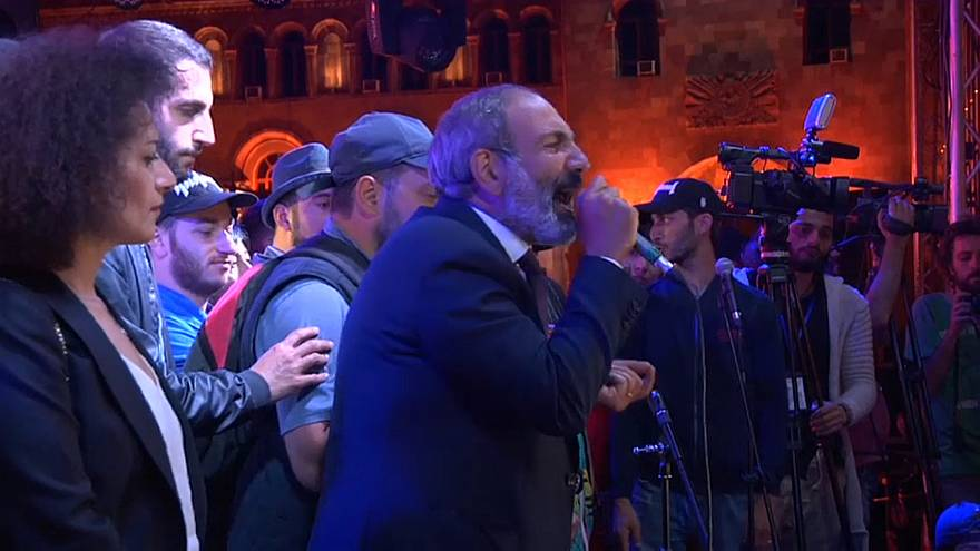 Battle lines drawn as Armenian opposition defies parliament and calls for transport blockade of country