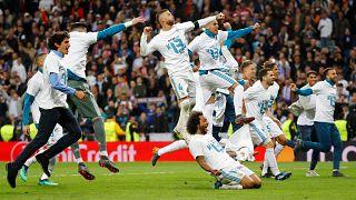 Real Madrid turun sevincini yaşıyor