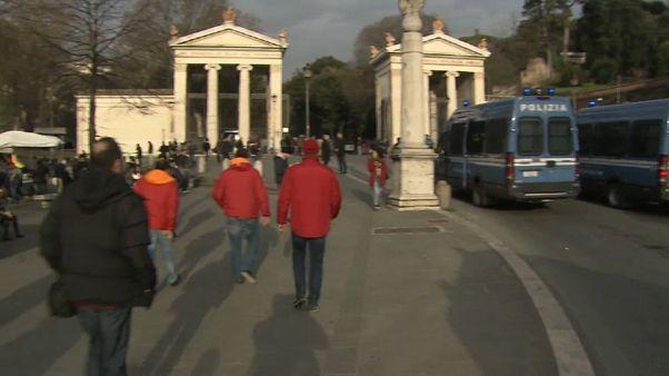 Blindada la 'Ciudad Eterna' ante el Roma-Liverpool