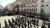 'Una silla vacía' preside la fiesta regional de Madrid tras el escándalo Cifuentes