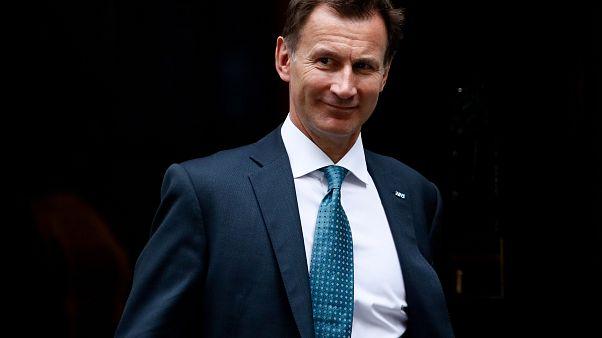 Ο υπουργός Υγείας της Μεγ. Βρετανίας Τζέρεμι Χαντ