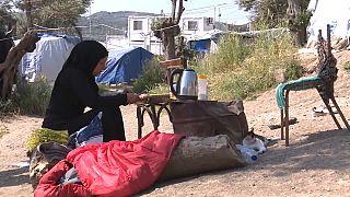 Midilli Adası'ndaki mülteci krizi giderek büyüyor