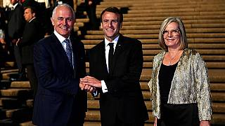Macron's faux pas after calling Australian leader's wife 'delicious'