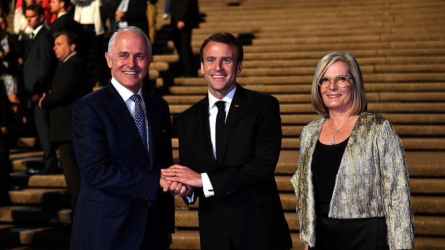 """Macron findet Frau von Australiens Premier """"lecker"""""""