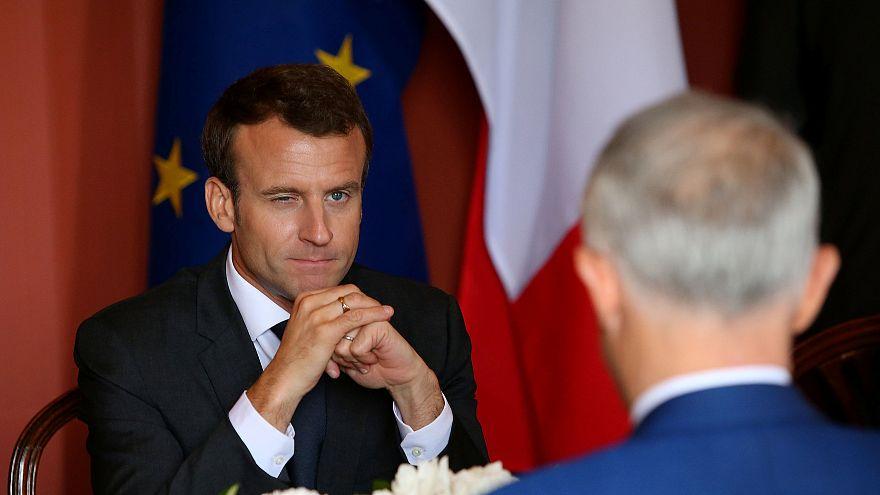 """Macron veut """"un accord plus large"""" sur le nucléaire iranien"""