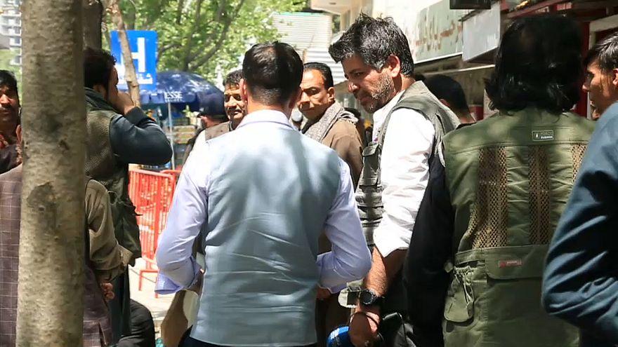 İntihar saldırılarının ardından Afganistan