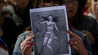 مظاهرات لتغيير قوانين الاغتصاب في إسبانيا