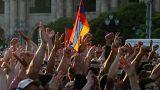 Los armenios alzan la voz el día de la huelga general