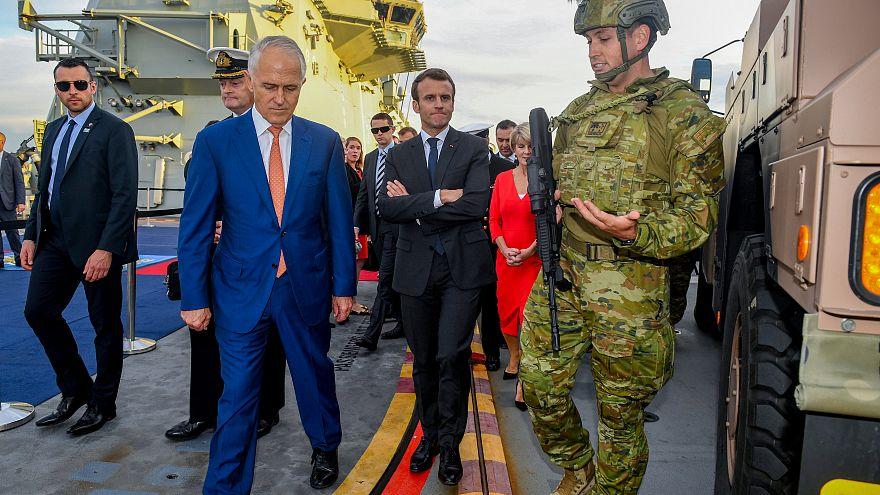 Macron in Australien