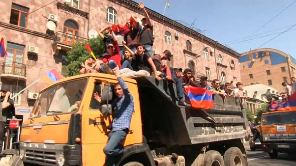 Armenia street protests