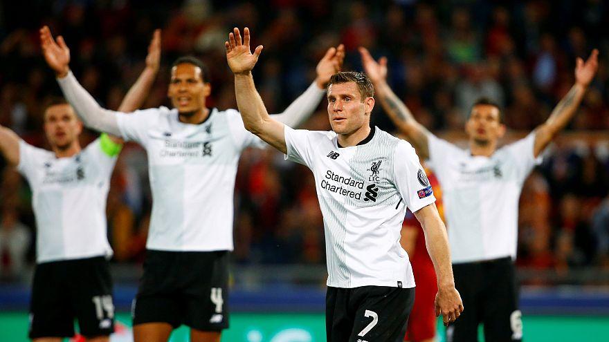 Roma'da tur vizesini alan ikinci takım Liverpool oldu