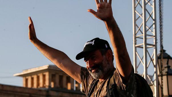 """Arménie : """"Notre candidat c'est Nikol"""""""