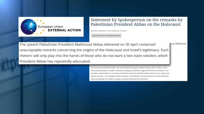 Abbas Anti Semitism Controversy Euronews