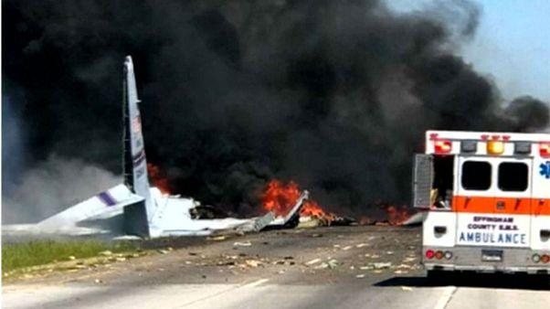 سقوط هواپیمای سی-۱۳۰ آمریکا