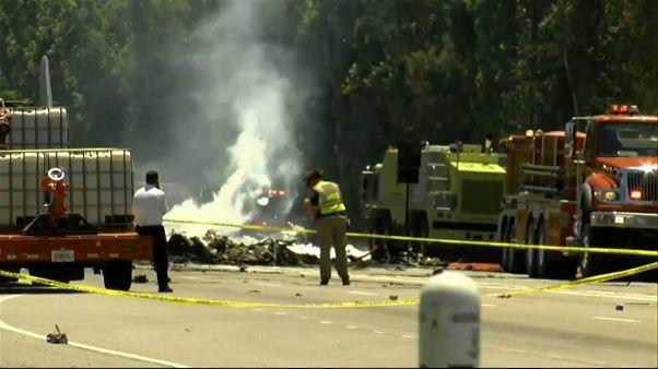 USA: cade aereo militare portoricano, 9 morti