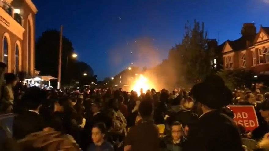إصابة 30 شخصا على الأقل في انفجار خلال حفل يهودي بلندن