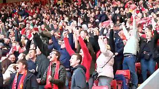 El Liverpool en la final de la Champions