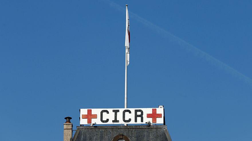 Das Hauptgebäude des Internationalen Roten Kreuzes in Genf (Schweiz)