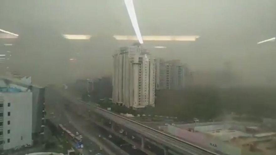 Deadly dust storm kills dozens in India
