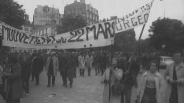 پنجاهمین سالگرد جنبش دانشجوییـ کارگری مه ۶۸ فرانسه
