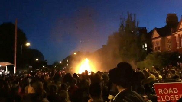 انفجار در مراسم عید یهودیان در لندن چندین زخمی بر جای گذاشت