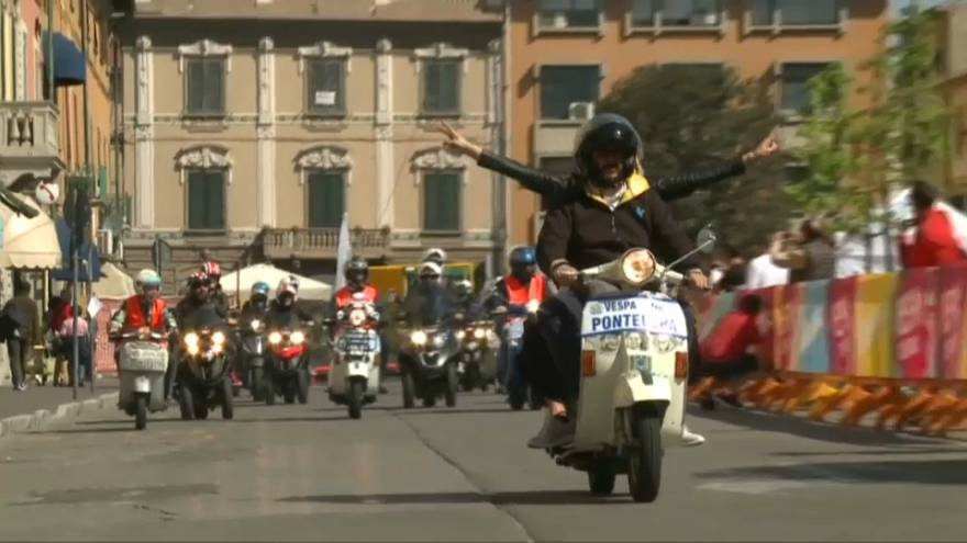 The Primavera turns 50 as Vespa celebrate the scooter that gave the world wings