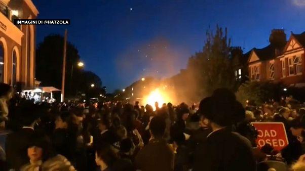 Londra: esplosione alla festa ebraica, panico
