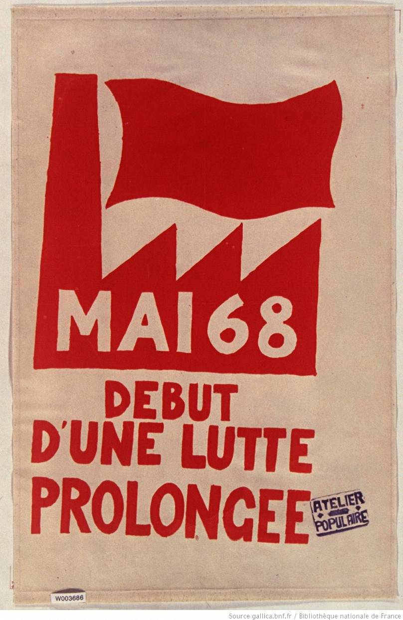 Atelier Populaire / Source : gallica.bnf.fr / BnF