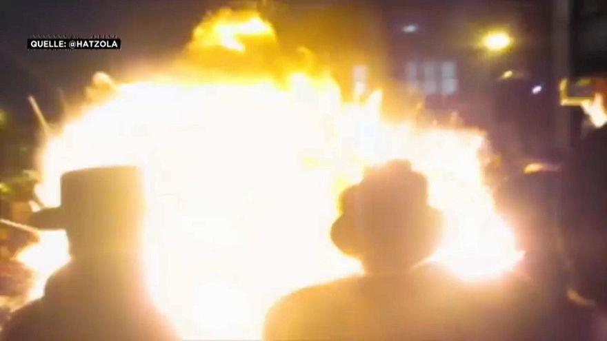 London: Feuer explodiert auf jüdischem Fest