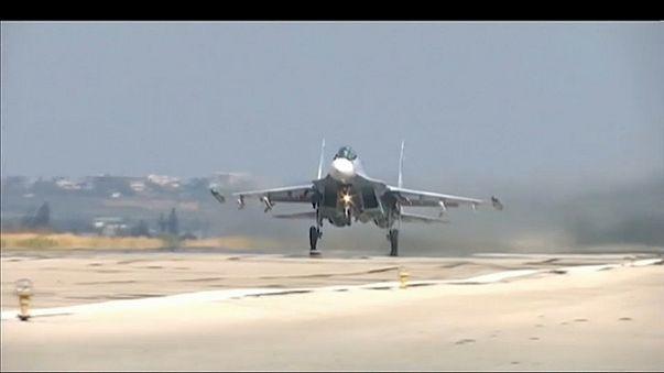 В Сирии разбился российский истребитель