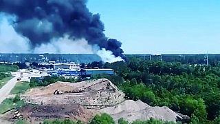 ABD'de askeri uçak kazası : 9 ölü