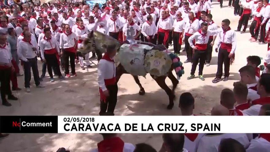 Des fêtes spectaculaires à Caravaca de la Cruz