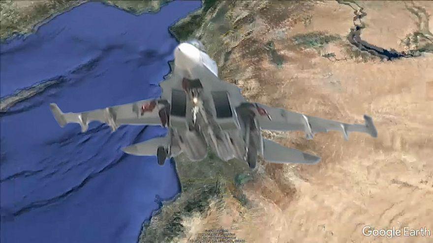 Russischer Kampfjet vor Syrien abgestürzt