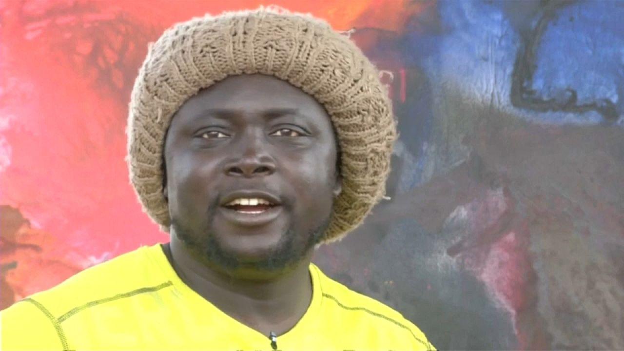 Alioune, le berger sénégalais devenu peintre