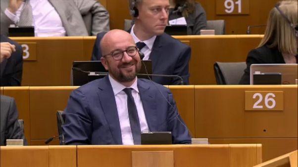 Charles Michel al parlamento UE, tra polemiche e richieste esplicite da parte di Juncker