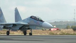Dos pilotos mueren al estrellarse un caza ruso en Siria