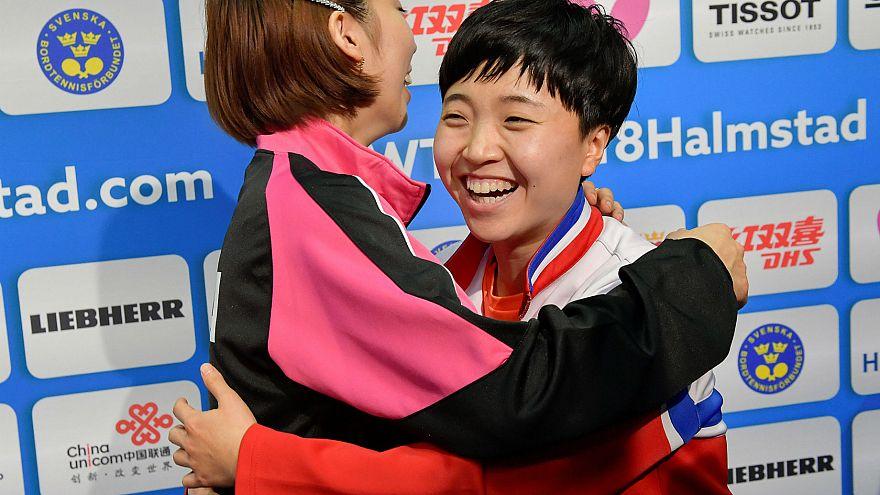 Pingpongban sem küzd egymással a két Korea