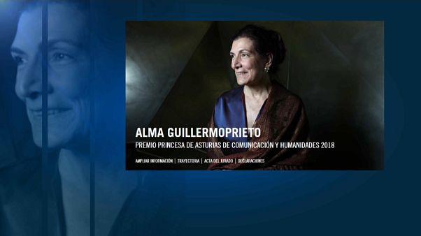 La periodista Alma Guillermoprieto, Premio Príncipe de Asturias de la Comunicación y Humanidades 2018