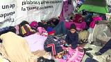 Migrantes pedem asilo nos EUA