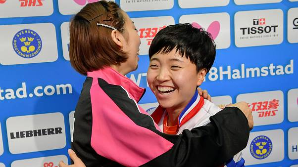 Tischtennis-WM: Nord- und Südkorea bilden gemeinsames Team
