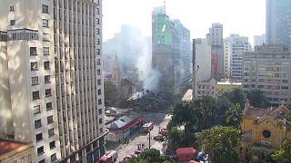 Das ehemalige Bürohaus in São Paulo galt schon lange als marode.