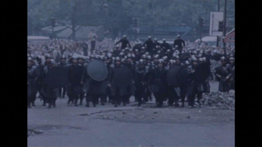 Mayo del 68 sigue presente en la sociedad francesa