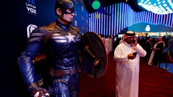 صالة سينما في الرياض