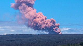 Havai Adasında yanardağ paniği