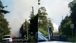 تصدع في الأرض يخرج حمما بركانية في هاواي