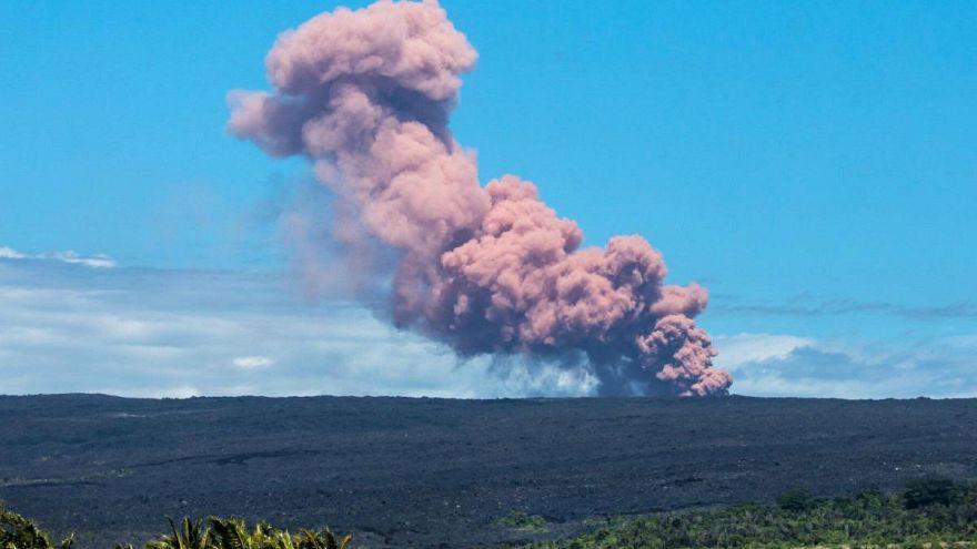 Vulcão Kilauea entra em erupção na Ilha do Havai