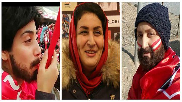 إيرانيات يتنكرن في زي الرجال لدخول ملاعب كرة القدم