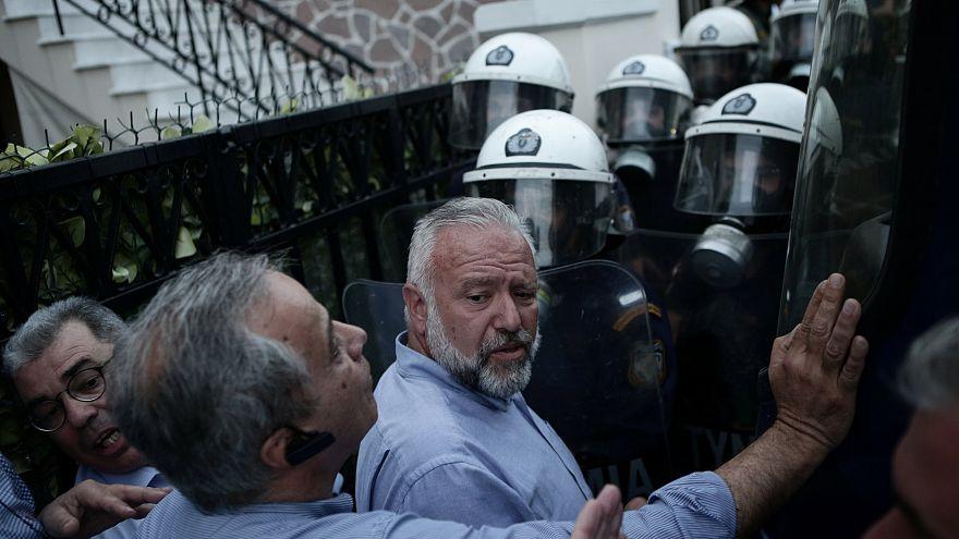 Lesbos: Griechen überfordert mit Flüchtlingsansturm