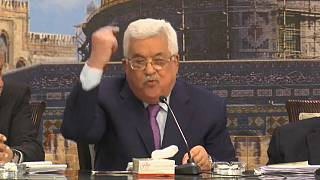 Mahmoud Abbas, who is 82,  re-elected as Palestinian president