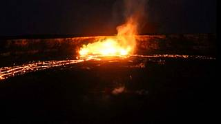 Hawaii, eruzione dal vulcano Kilauea